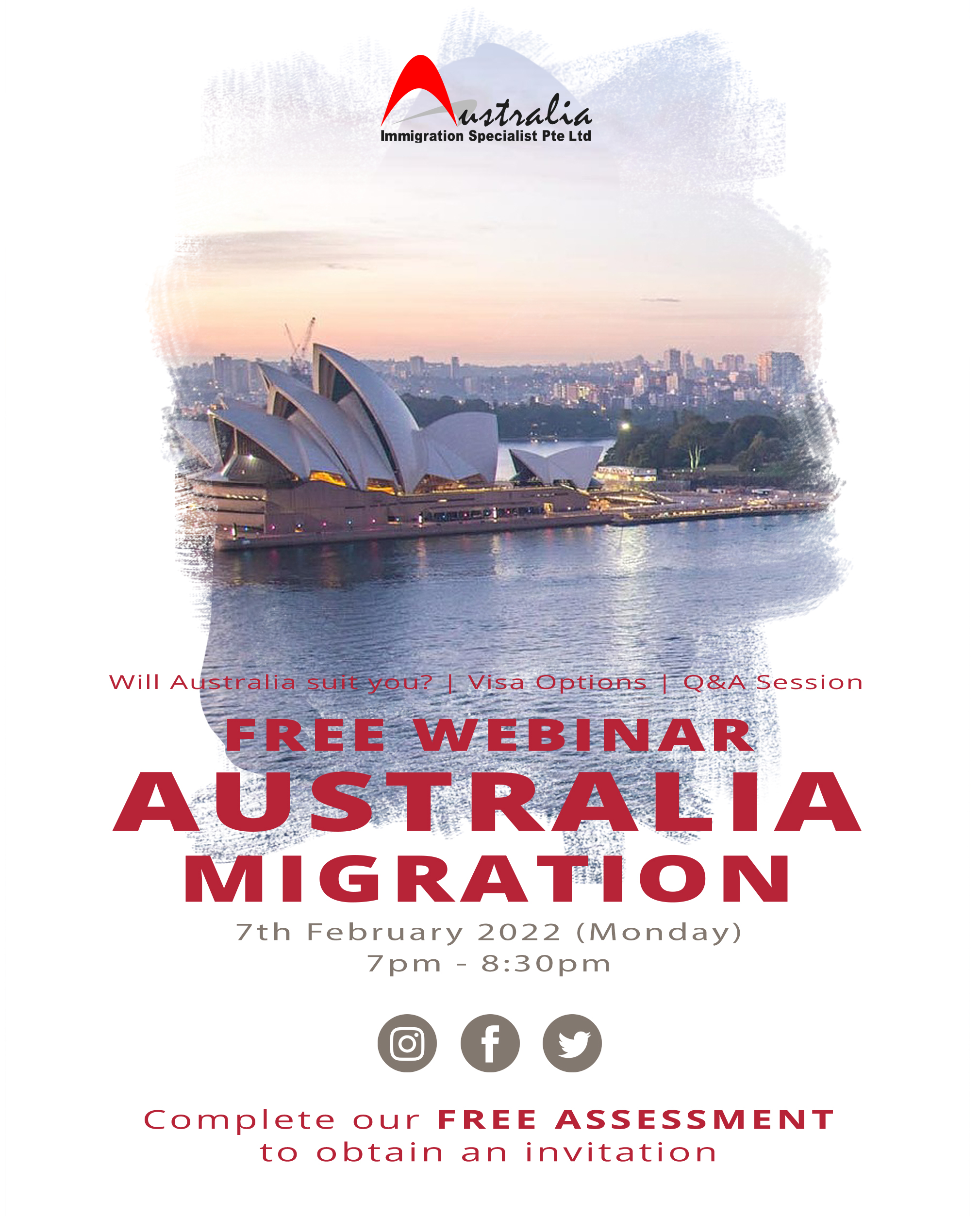 migration to Australia seminar